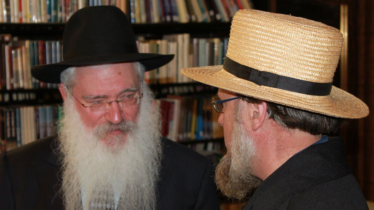 Hasid Mennonite Not As Different As You Think Video Highlight Un Jewish Men Amish Men Thinking Of You