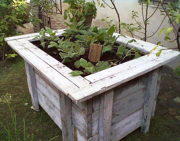 Tavolo Orto ~ Tavolo in legno per orto sul terrazzo prusto orto e giardinaggio