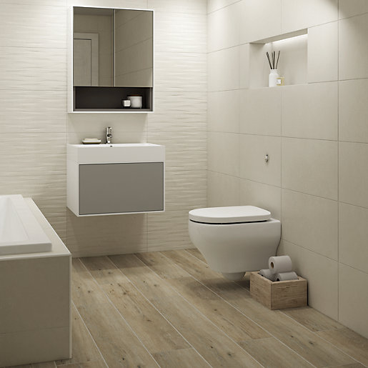 Boutique Arkety Bone Structure Ceramic Wall Tile 600 X 300mm In 2020 Ceramic Wall Tiles Wood Effect Tiles Ceramic Tile Bathrooms