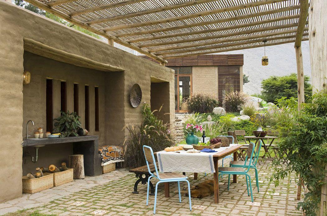 Maison rustique de luxe située au cœur de la nature péruvienne House