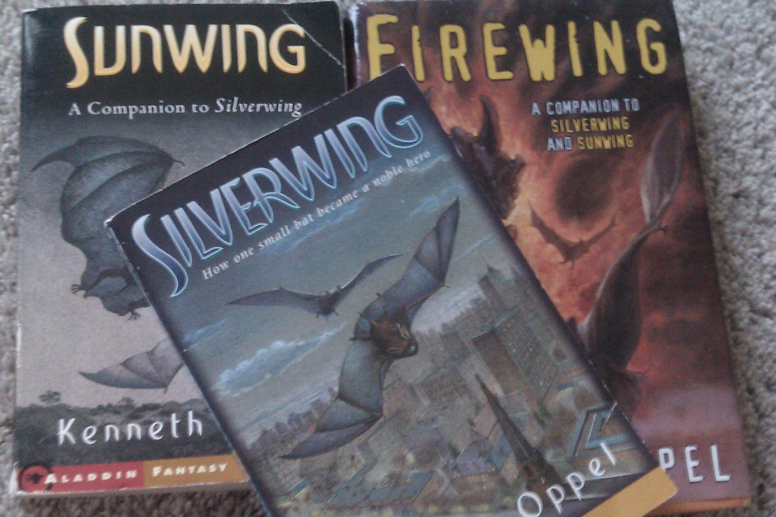 Silverwing Sunwing And Firewing All By Kenneth Oppel