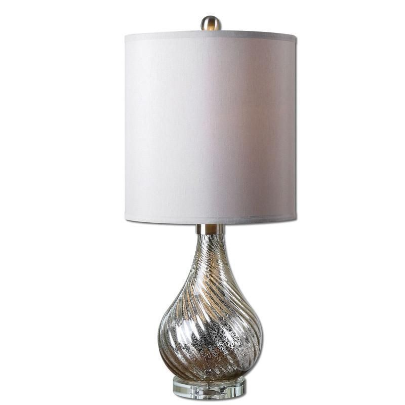 Uttermost 29341 1 Girona Mercury Glass Table Lamp