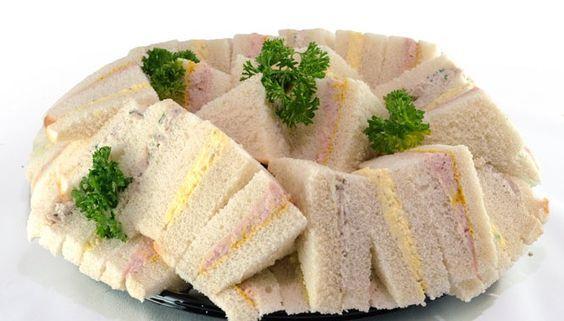 Trio de sandwich - Buffet froid | Recette buffet froid, Buffet froid