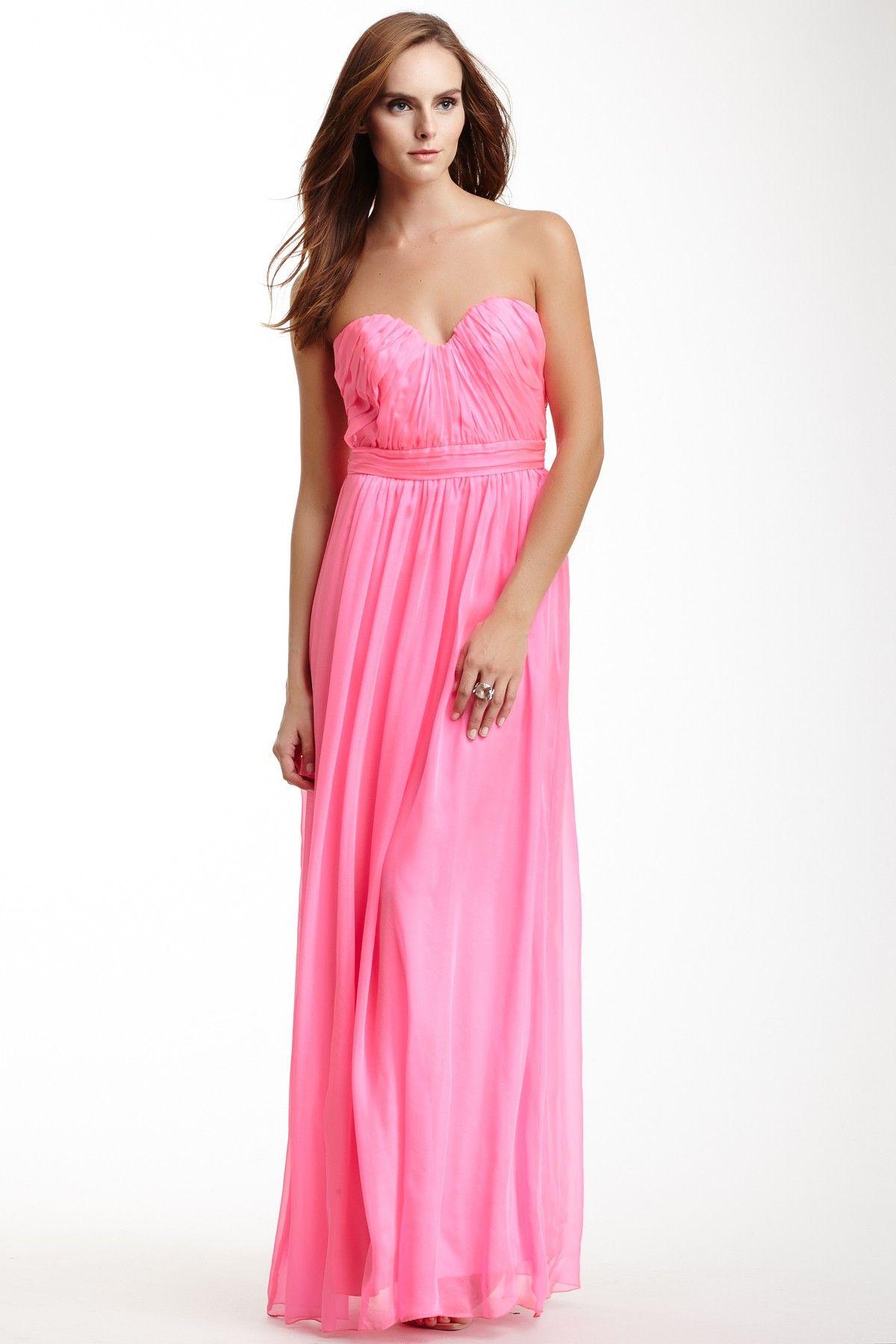 strapless shirred bodice gown | Mi ropa! | Pinterest | Damas, Tela y ...