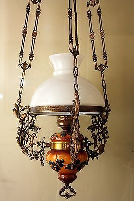 Antique Kerosene Chandelier