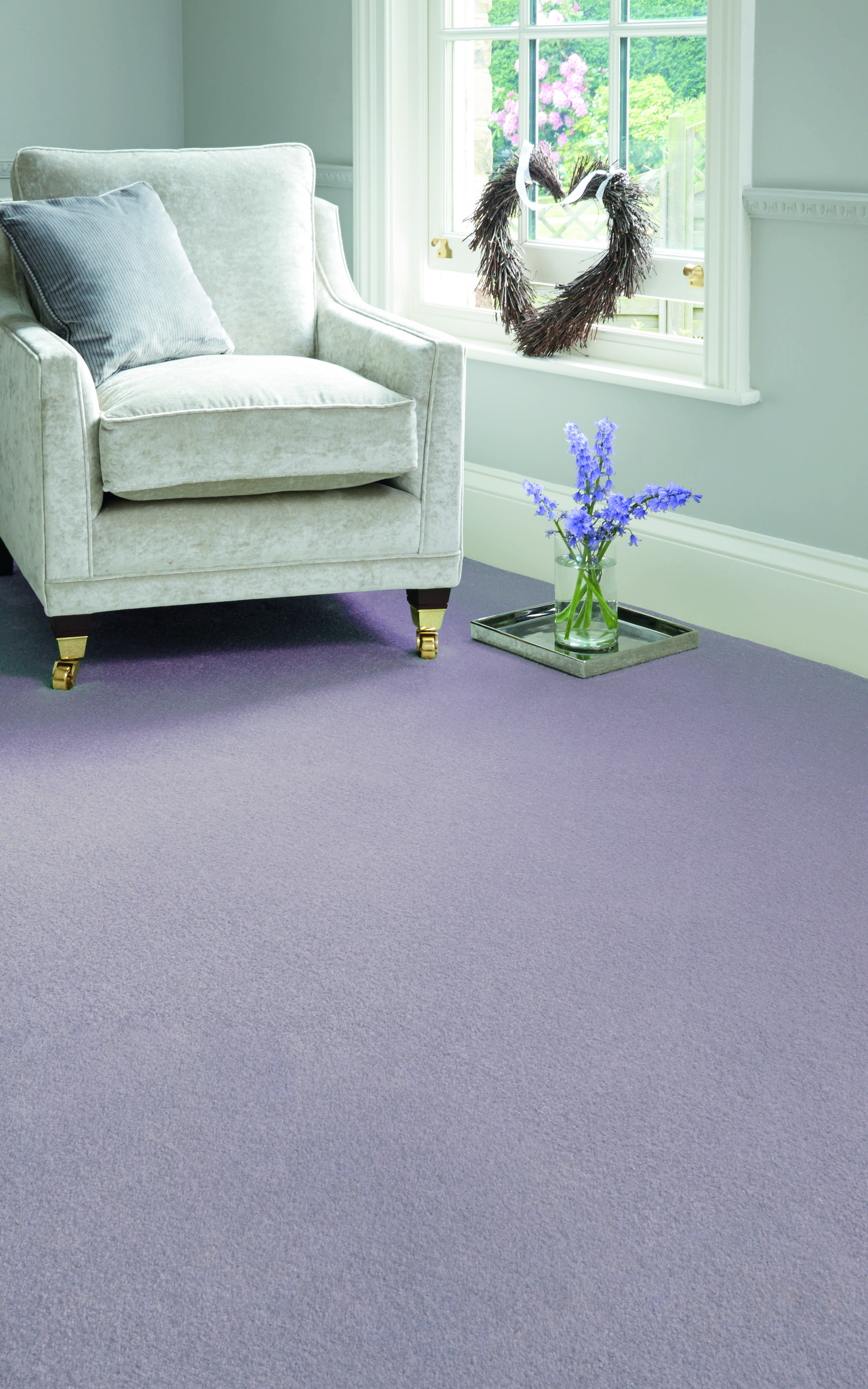 If violet is a little to bold, try a softer lilac. in 2019