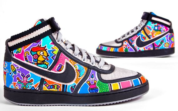 These brilliantly customised sneakers take their design cue