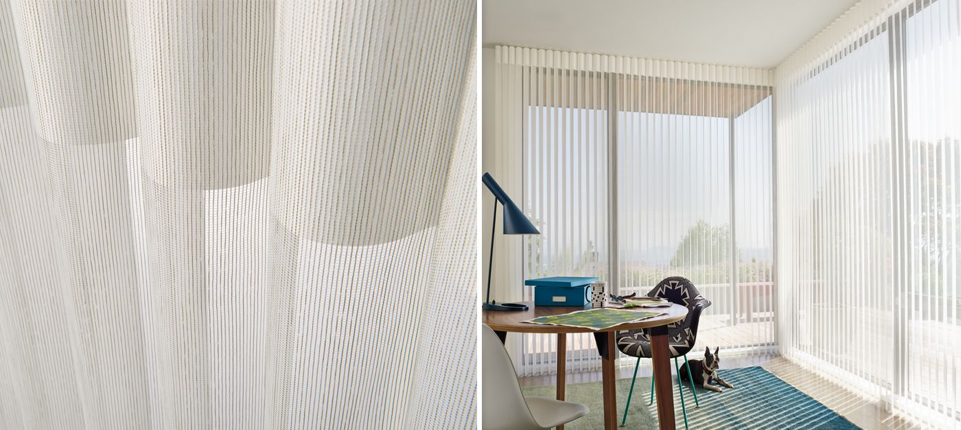 Especially Suited For Expansive Walls Of Windows And Sliding Glass