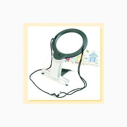 Illuminated Hands-Free Magnifier