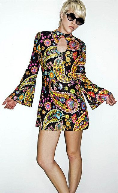 Sold go go girl sexy retro psychedelic hippie mini dress sm 60s psychedic dress flower power recent photos the commons getty collection galleries world map app gumiabroncs Gallery