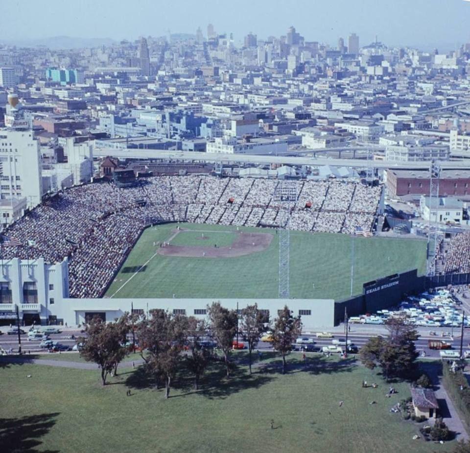 Seals Stadium, San Francisco home of the Giants 195859
