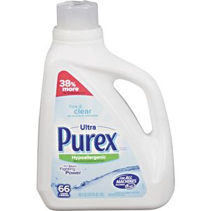 Purex Detergents Ultra Concentrate Free Clear Laundry Detergent