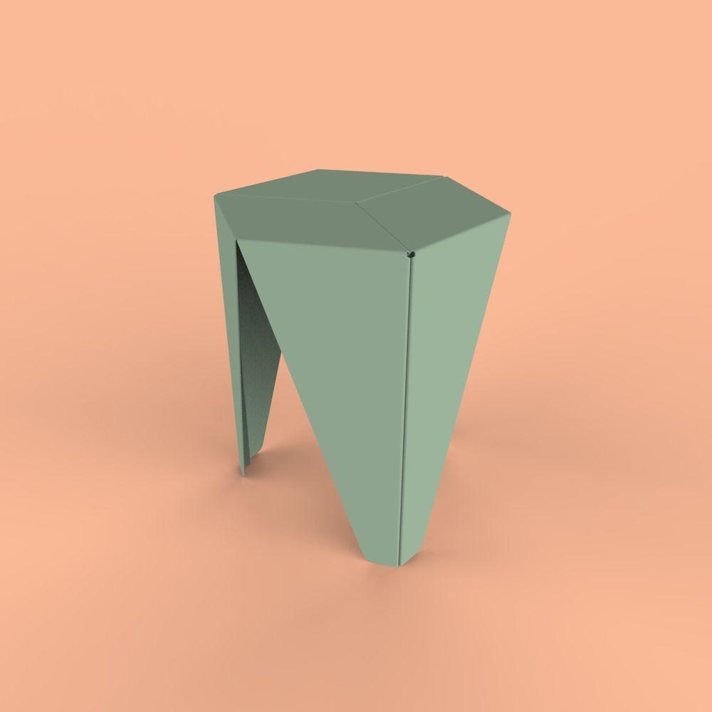 thedesignwalker: \u201cSheet metal #stool #furniture \u201d | Ispirazioni ...