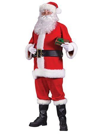 829a7c0e3587 Adult Economy Santa Suit Halloween Coatumes