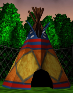 Wumba's Wigwam! I LOVE Banjo Tooie! I need to go play it now.