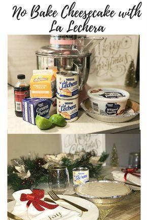Photo of Holiday Tradition- No Bake Cheesecake
