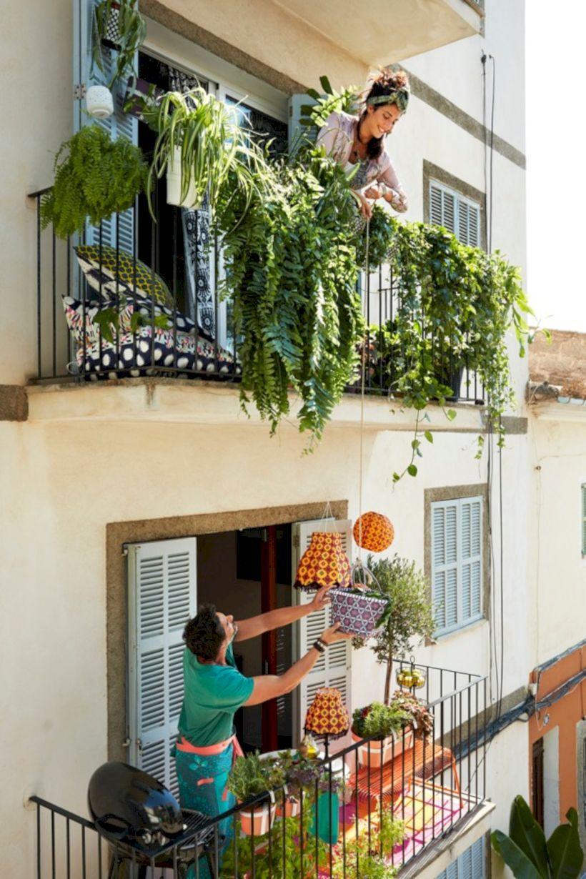 55 Inspiring Balcony Ideas For Small Apartment