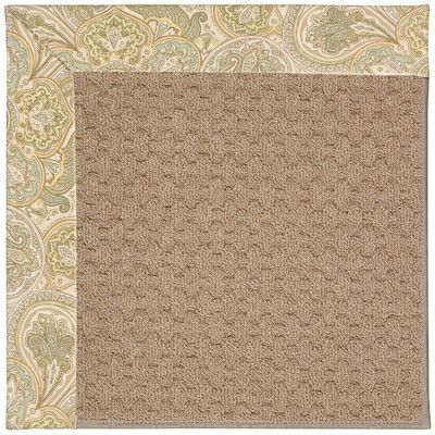 Capel Zoe Grassy Mountain Machine Tufted Quarry Area Rug Rug Size: