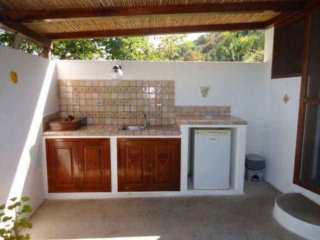 cucina giardino  Cerca con Google  arredo giardino  Kitchen Cabinets Kitchen e Home Decor
