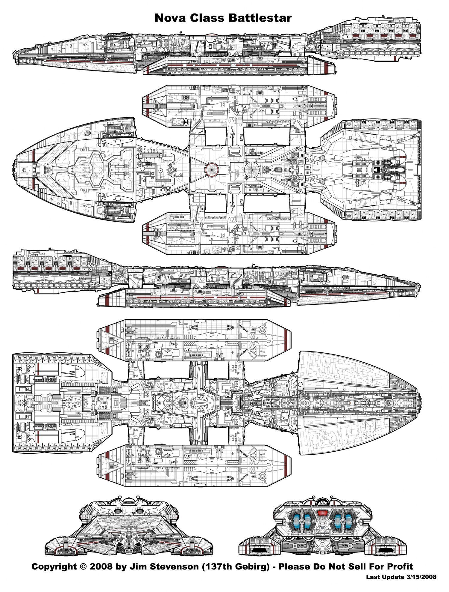 In the original Battlestar Galactica, 19781980, each of