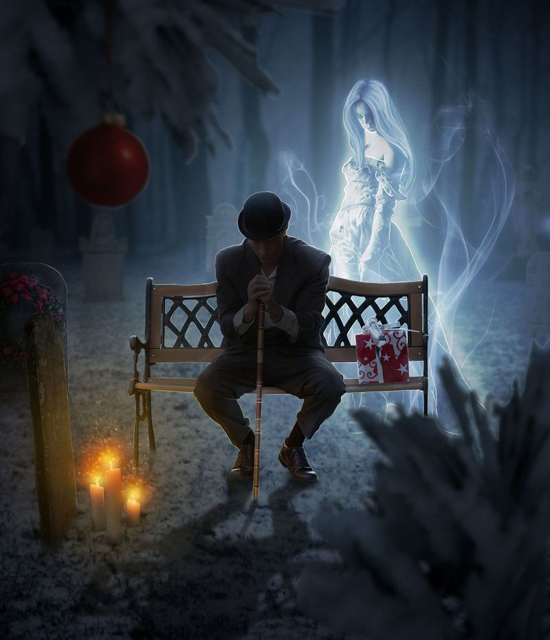 A Lonely Christmas by Jezzy-Art on deviantART | Christmas ...
