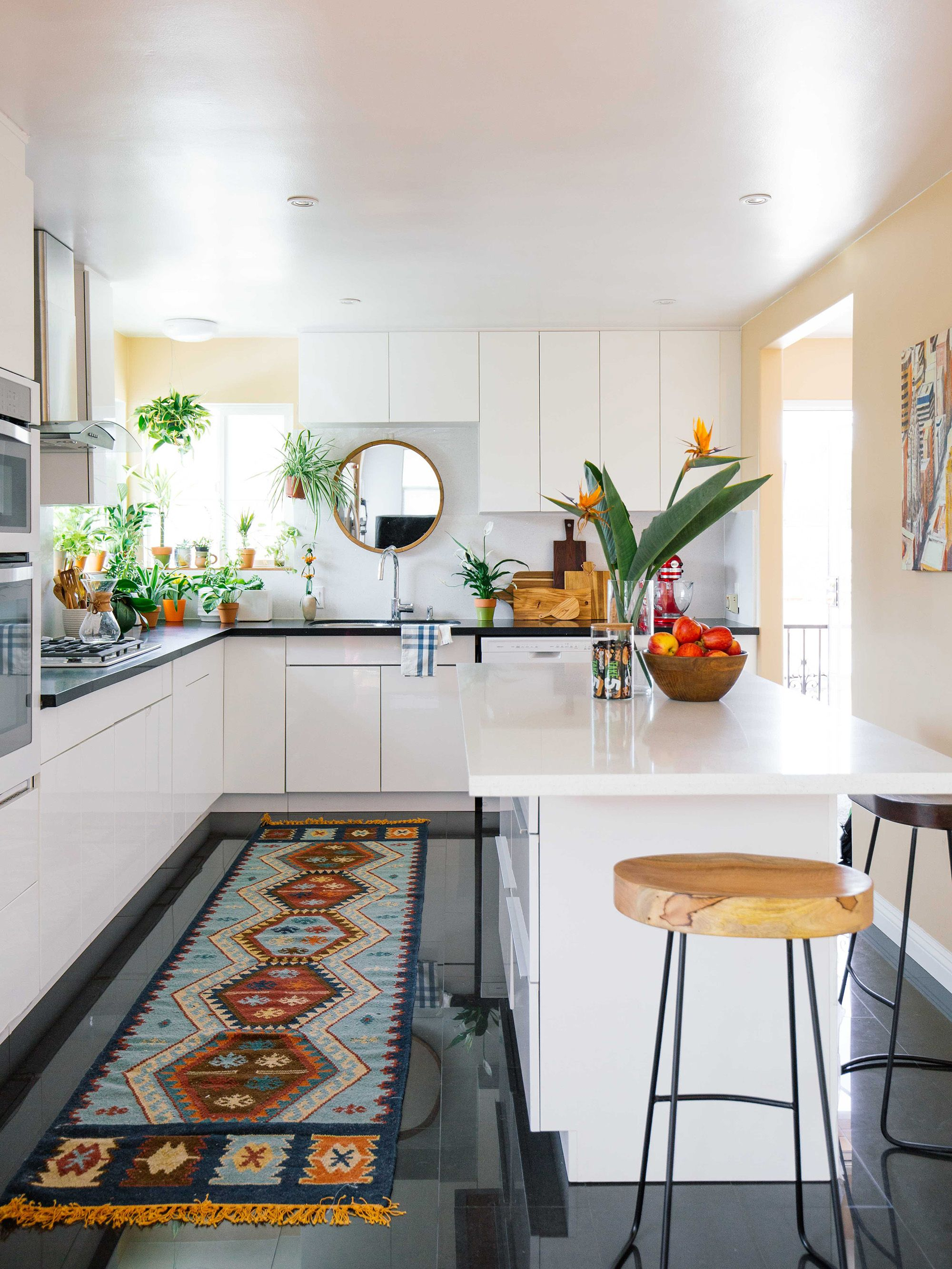 Old Brand New Kitchen Makeover Bohemian Styling