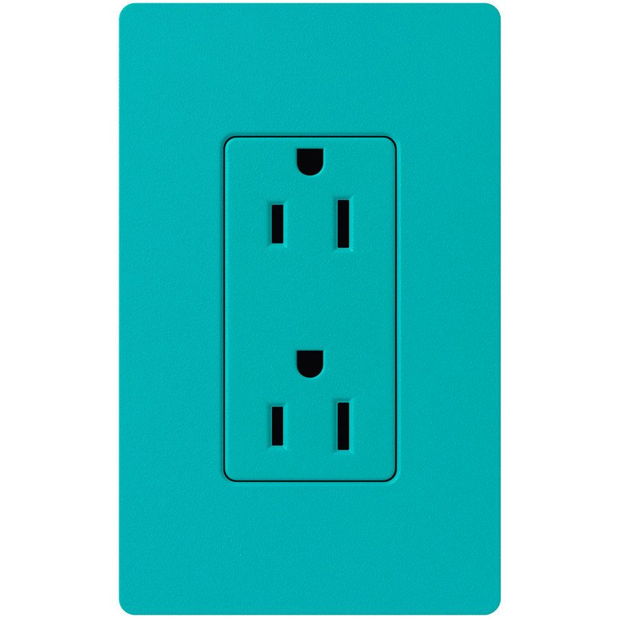 $14.69-LUTRON CLARO 15-AMP 120/125-VOLT INDOOR DECORATOR WALL OUTLET ...