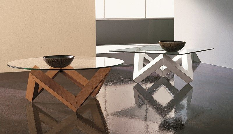 Round coffee table for living room ZEN | Coffee table by