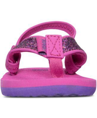 67b2a6e485a3 Teva Toddler Girls  Mush Ii Flip-Flop Sandals from Finish Line - Pink 6