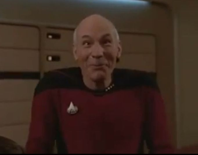 Funny Face Meme Maker : Captain jean luc picard= the most sophisticated man in the universe