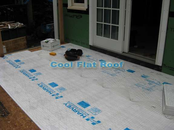 Flat Roof Deck Installation in Wellesley MA