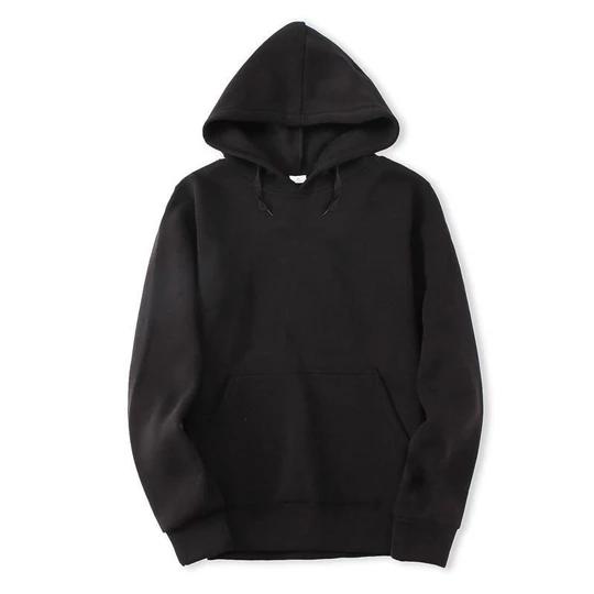 New Mens Hoody Hip-Hop Jacket Zip Hoodie Streetwear Black Red Gray White M-XXL