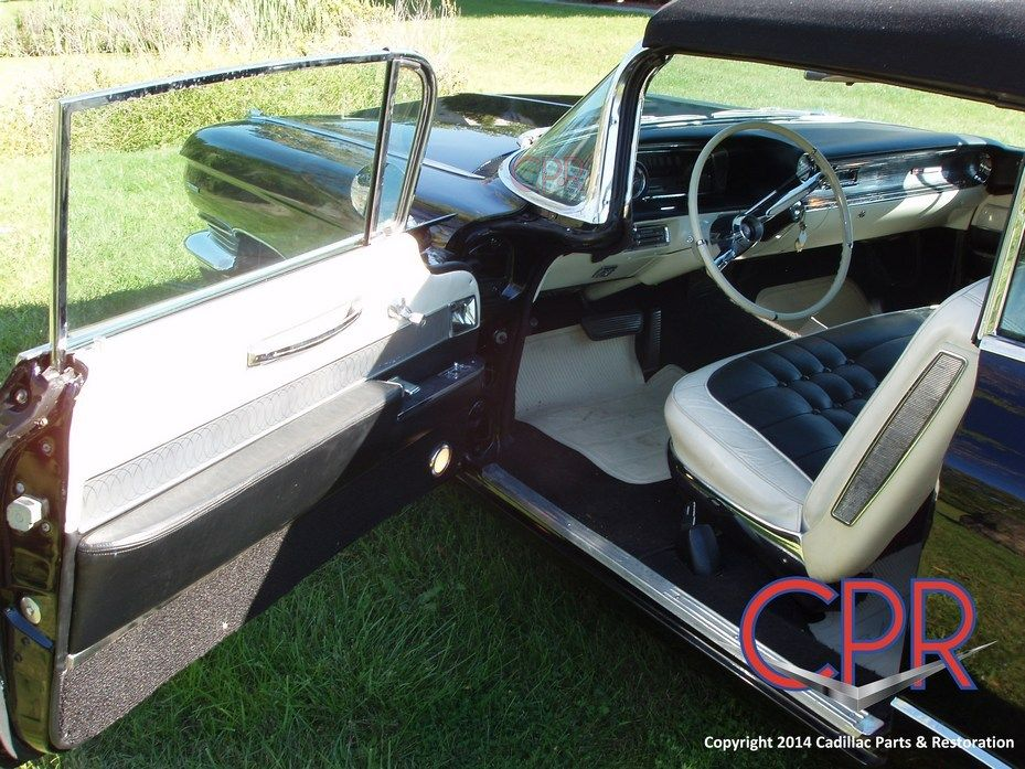 Older 1960 Cadillac Coupe restoration project - www.cprforyourcar ...