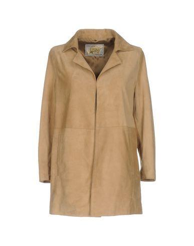 VINTAGE DE LUXE Women's Overcoat Camel 6 US
