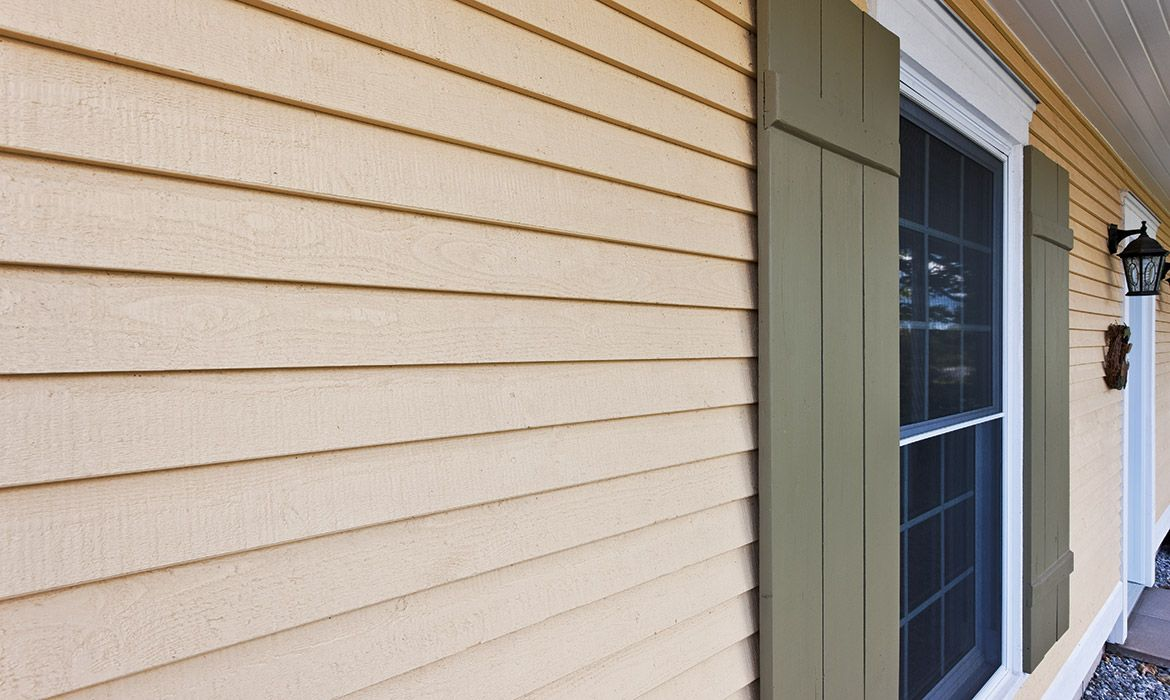 Amazing Ancestral House Siding Rabbeted Bevel In Maibec Harvest Yellow 5 Wood Siding Exterior Wood Siding Siding