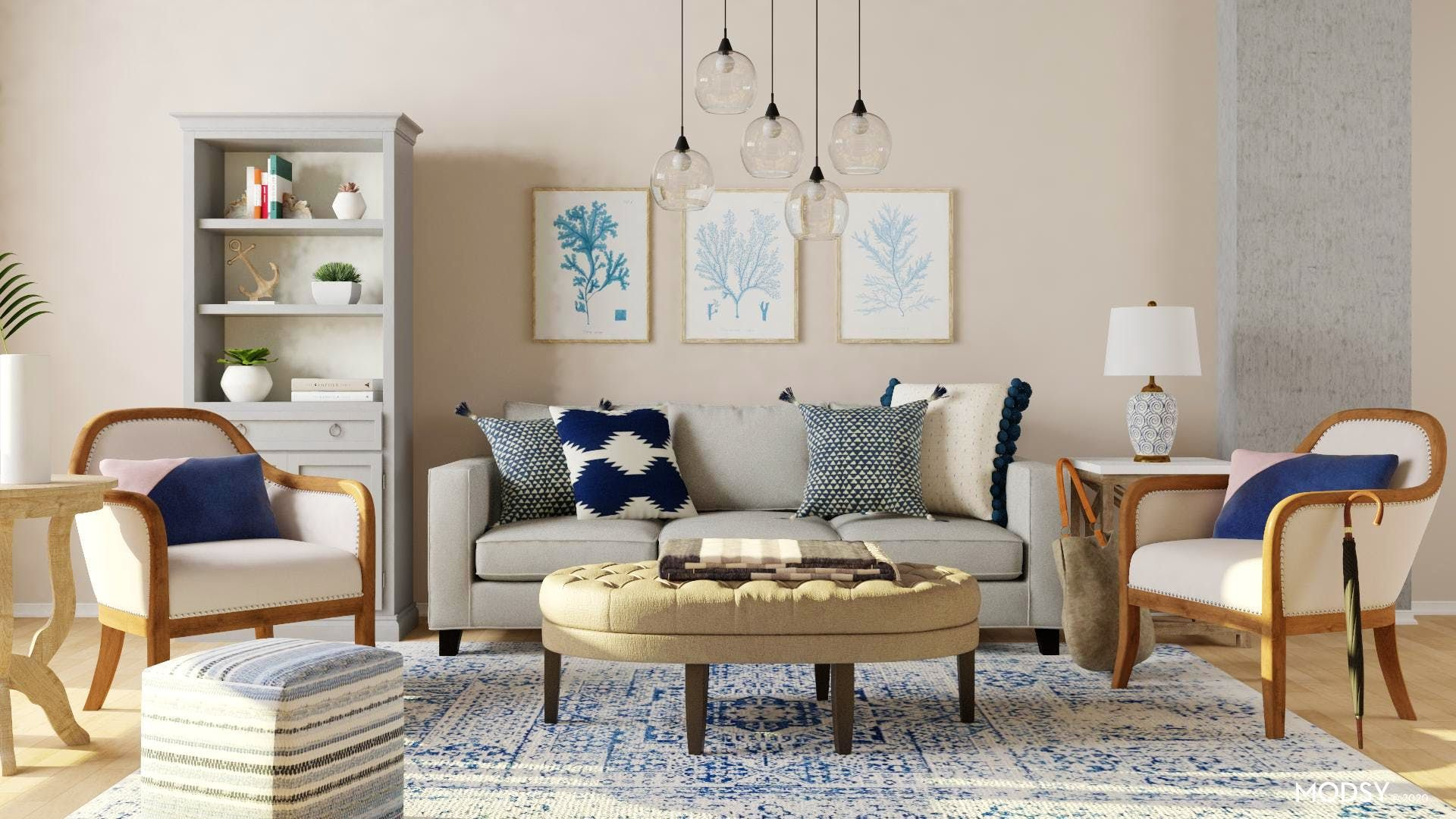 Transitional Living Room Design Ideas And Styles From Modsy Designers In 2020 Transitional Style Living Room Transitional Living Room Design Living Room Designs #transitional #living #room #design