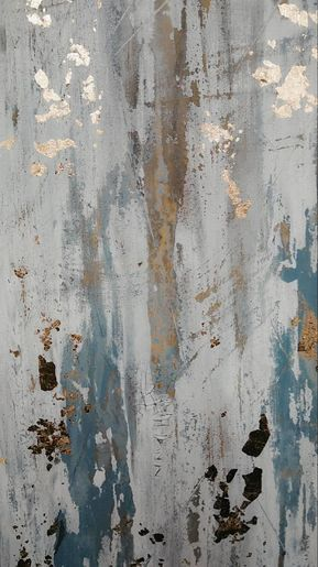 Original Gold Leaf Abstract Painting By Amy Neal 24 X 24 In 2020 Modern Wall Art Canvas Abstract Painting Abstract