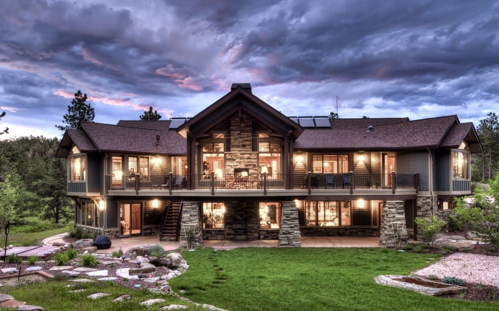 Mountain View House Plans With Walkout Basement Craftsman Style House Plans Ranch Style House Plans Mountain House Plans