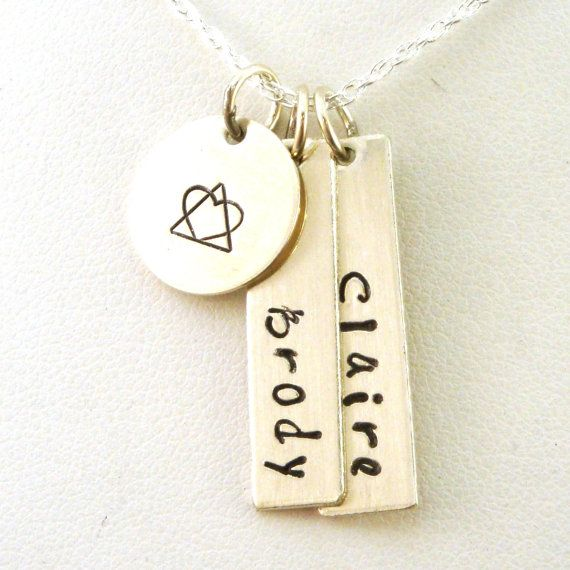 Adoption Necklace With Two Names Adoption By Crowstealsfire