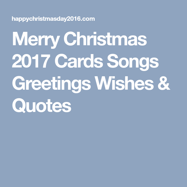 Song Quotes 2017 Beauteous Merry Christmas 48 Cards Songs Greetings Wishes Quotes Merry