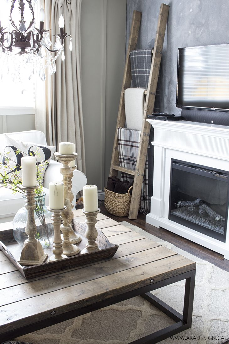 Living Room Blanket Holder Baci Living Room