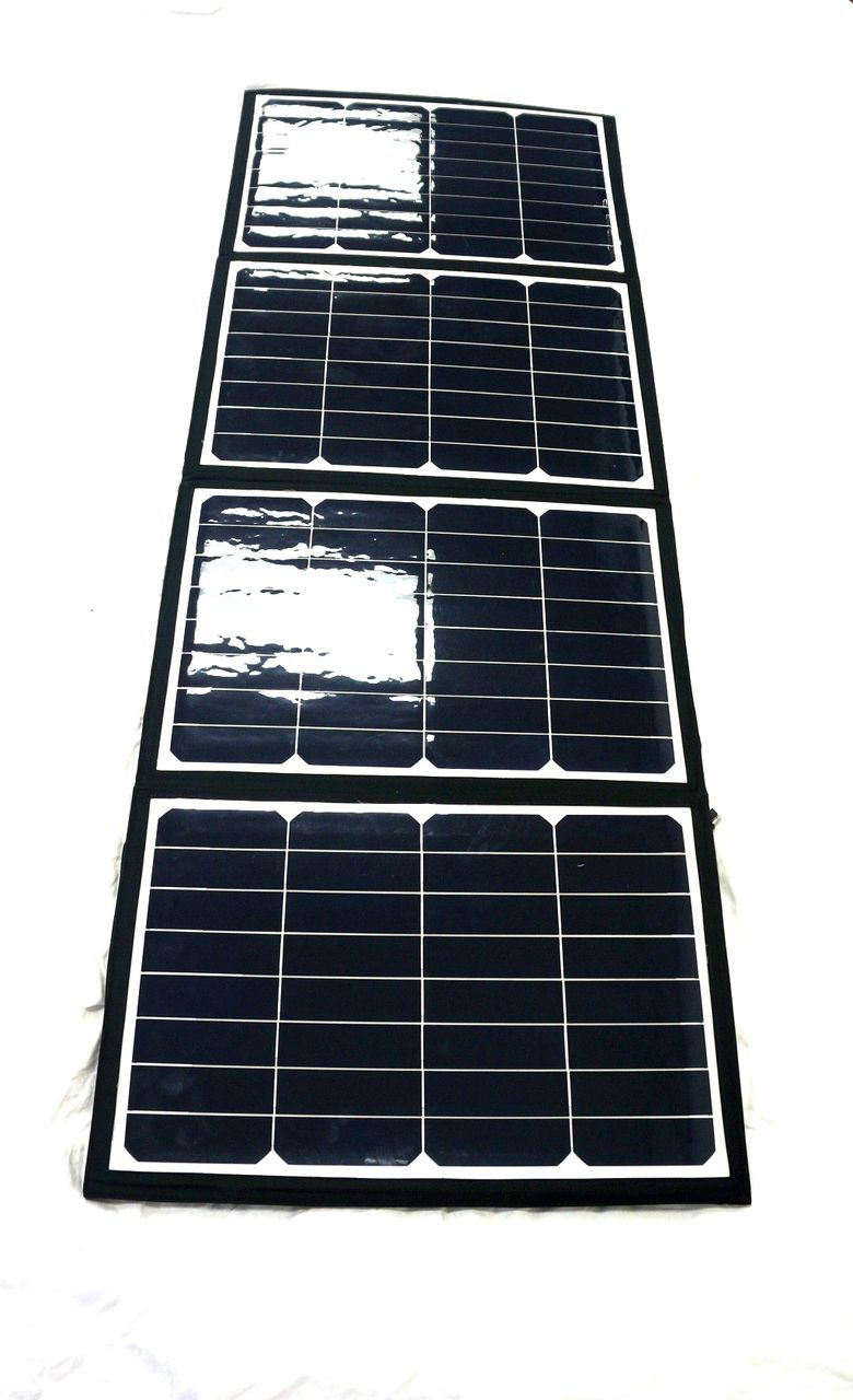 Hpc Suncapture 120 Folding Solar Panel And Charger Hi Power Cycles Solar Panels Solar Paneling