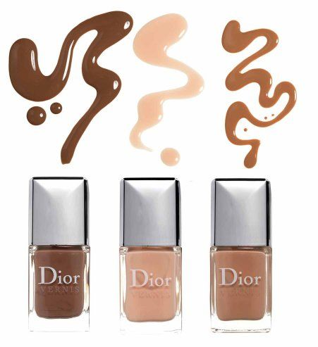Des vernis à ongles Dior, tendance maquillage A/W 2012 2013