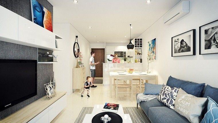 Diseño cocinas abiertas al salón prácticas y funcionales ...