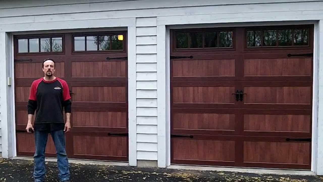 Garage door accents - Accents Chi Overhead Garage Doors Model 5916 5983 5283c H I Accents Woodtones