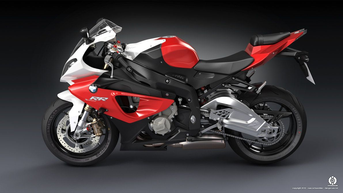 Bmw 1000rr Red White Red And White Bmw