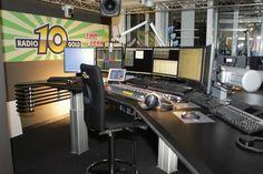Nieuwe studio Radio 10 gold.