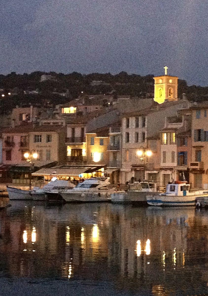 Cassis Fleaingfrance Night Nuit Cassis Tourismpaca
