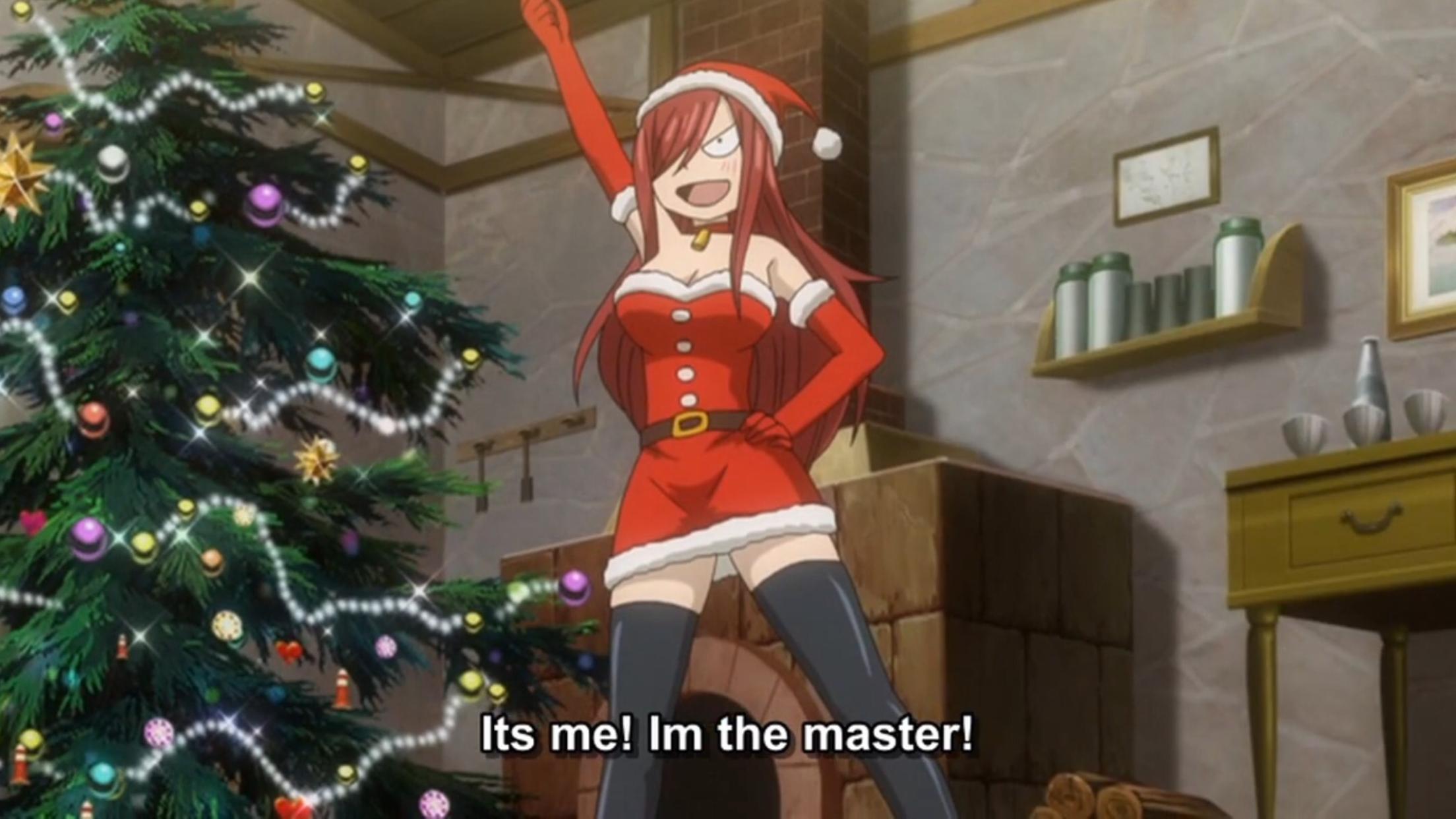 Fairy Tail Fairies Christmas