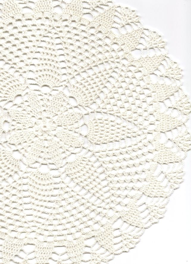 Crochet Doilies Cotton Doily Wedding Decor Table Centerpiece Natural